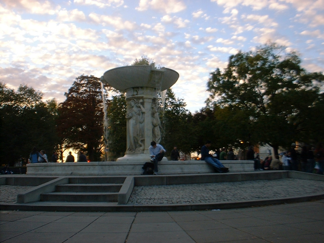 Evening in Dupont Circle